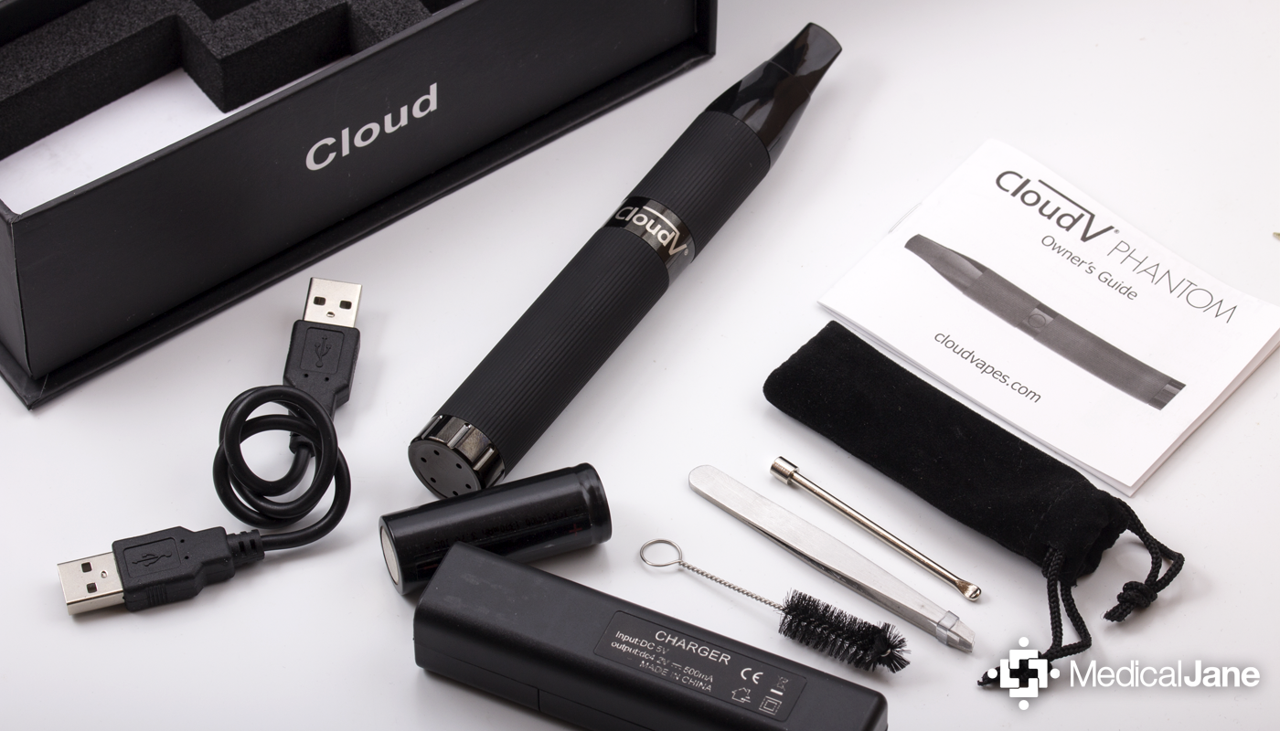 Cloud V Phantom Portable Vaporizer