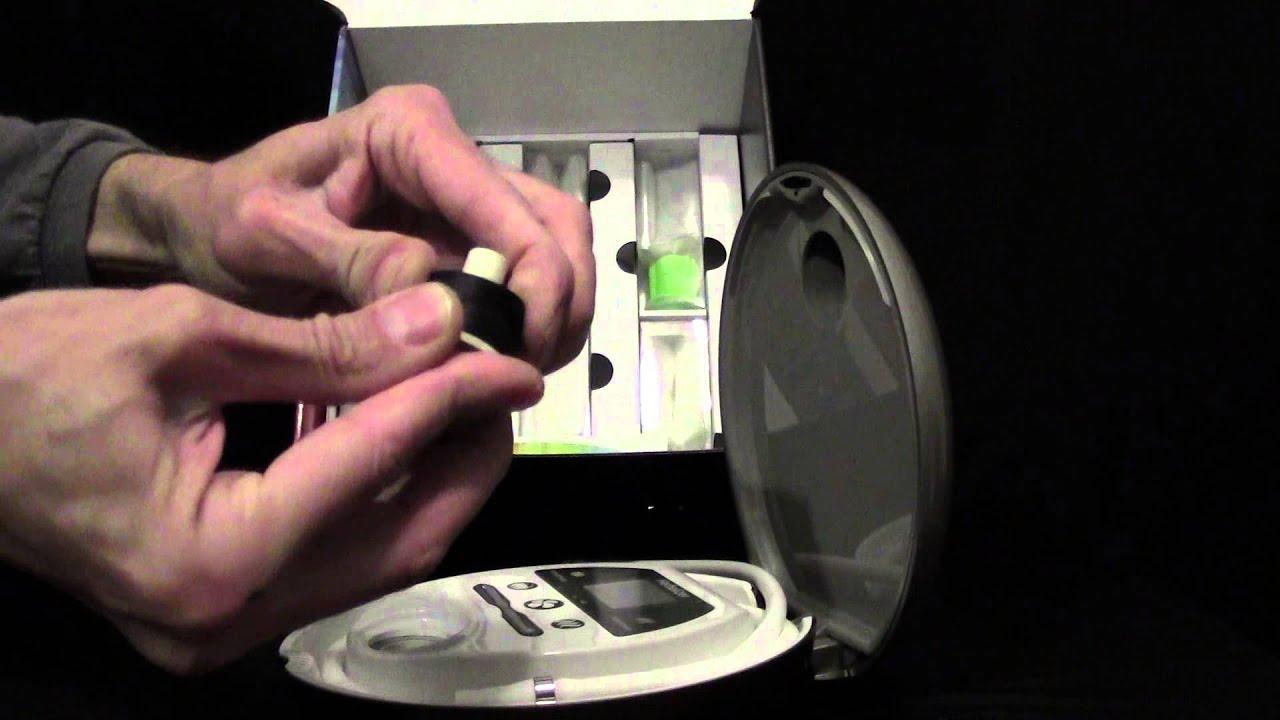 The Herbalizer Vaporizer - Premium Desktop Technology
